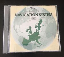 JAGUAR XJ X-TYPE S-TYPE SAT NAV NAVIGATION DVD EUROPE UK MAP CD X TYPE S TYPE