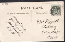 Genealogy Postcard - Piggott - Childrey, Wantage, Berkshire  RF613