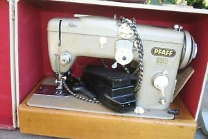 Sewing ,, PFAFF-230,, with lot accessories