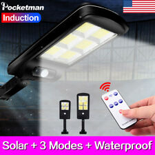 100W Remote Control COB Solar Street Light LED Landscape Light Garden Lamp