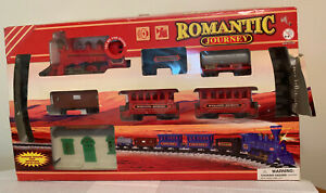 Vintage Train Set Romantic Journey
