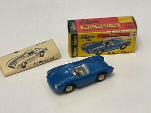 NICE Vintage 1:90 Western Germany Schuco PICCOLO # 708 PORSCHE SPYDER W/ Box!
