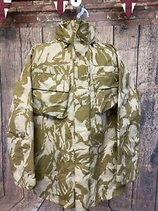 Large British Army Desert Camo Goretex Waterproof Windproof MVP Jacket Fishing