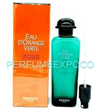 EAU D'ORANGE VERTE by HERMES 6.5oz / 200ml EDC Spray Rare Discontinued (BA27