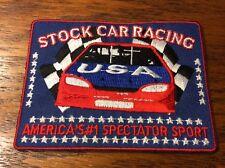 Nascar Auto Racing Stock Car USA #1 Spectator Sport Patch (IS-539)