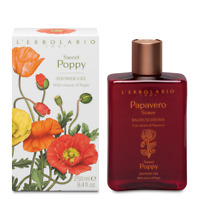 L'erbolario Sweet Poppy Shower Gel  With Antioxidant&Protective Action 250ml