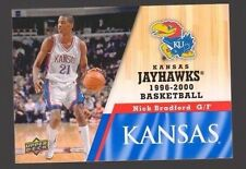 2013 Upper Deck Kansas #65 Nick Bradford Mint Jayhawks KU Basketball Rock Chalk