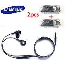2PCS AKG Super Bass Earphone Mic Volume Control Headphone For Samsung S7 S8 + S9