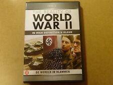 2-DISC DVD / THE REALITY OF WORLD WAR 2 - DEEL 2 - DE WERELD IN VLAMMEN