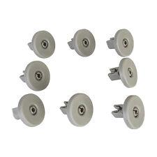 8 x inférieur panier roues pour aeg, electrolux, tricity bendix, zanussi lave-vaisselle
