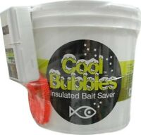 Marine Metal CB-211 Cool Bubbles 8 Qt Insulated Fishing Buckets/Bait Storage