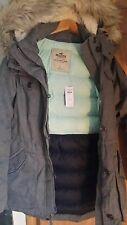 NEW WOMEN's hollister large parka coat