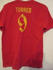 Torres 9 Ltd Edition fútbol T camisa tamaño Grande / 35371 España el Atlético de Madrid