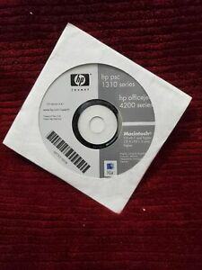 SOFTWARE CD DISC FOR HP OFFICE JET 4200 PSC 1310 INVENT