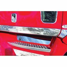 Kenworth T700 Front Upper Step Kick Plate, Stainless Steel