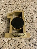 Westinghouse Power Circuit Division Puffer Breakers Gold #1 Customer Paperweig