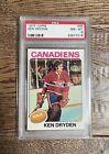 1975 Topps 35 Ken Dryden PSA 8 NM-MINT Canadiens HOF