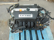 Honda accord K24A 2.4L DOHC i-VTEC Engine TSX Engine K24A 2.4L Transmission Auto