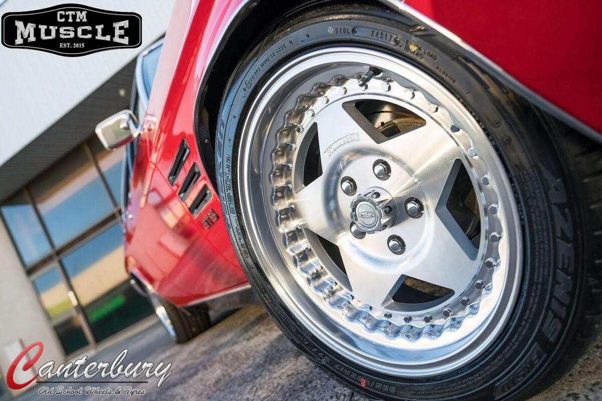 Canterbury tyre and Mag Supamart