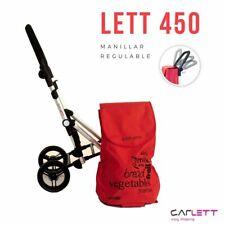 Lightweight folding Trolley Bag on 4 wheels CARLETT #LETT450