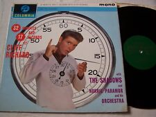 CLIFF RICHARD & THE SHADOWS - 32 MINUTES & 17   ~ 1962 UK  GOLD/GREEN LABEL ~ VG