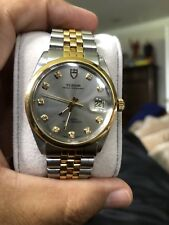 Tudor Prince Oysterdate 34mm Steel& 18k Yellow GoldDiamond Dial 84133