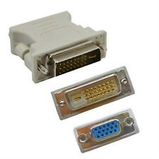 1 x DVI-D 24+1 Pin Male to VGA 15Pin Female Adapter Converter Connector