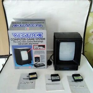 Milton Bradley (MB) Vectrex Games Console System with Games
