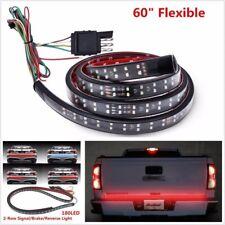 "US 60"" Pickup Dual LED Light Strip Bar Trunk Tailgate Brake Signal Reverse Lamps"