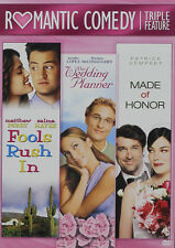 Fools Rush In / Made Of Honor / Wedding Planner (2016, DVD NEW)2 DISC SET