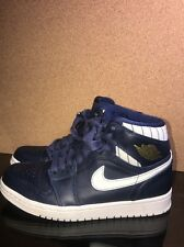 Air Jordan 1 Retro High Jeter USED NO BOX SIZE 7 RARE SIZE