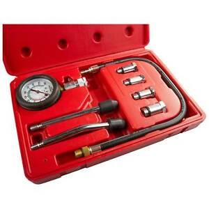 Sealey CT955 Car Motorcycle Petrol Engine Compression Tester Test Tool Gauge Kit