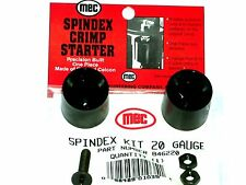 Mec Reloader Crimp Starter Spindex Kit (20 Ga 6 & 8 Point NIB)