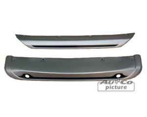 Spoiler sotto paraurti per Nissan Qashqai (J11) set anteriore+posteriore per PDC