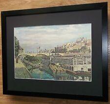 Puente de Louis-Philippe, Armand Guillaumin, Marco 20''x16'', pinturas de maestros