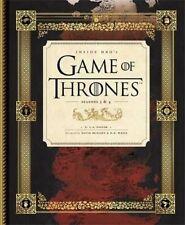 Inside HBO's Game of Thrones II: Seasons 3 & 4 by C. A. Taylor (Hardback, 2014)