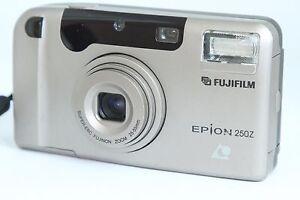 FUJIFILM EPION 250Z APS POINT AND SHOOT CAMERA WITH FUJINON SUPER EBC LENS