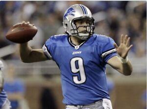 "New Detroit Lions Mathew Stafford #9  NFL ProLine Jersey Size XL Woman's 23""X29"""