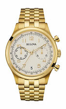Bulova 97B149 Mens Classic Collection Chronograph Watch w/ Date