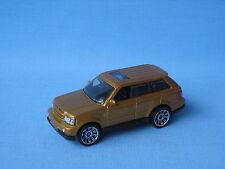 Matchbox Range Rover Sport Gold Body Toy Model Car 70mm Rare UB