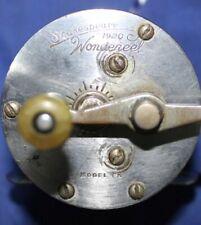 VINTAGE SHAKESPEARE WONDEREEL 1920 MODEL FK FISHING REEL PARTS OR REPAIR