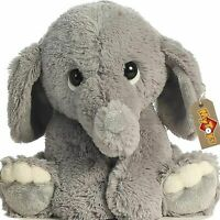 Stuffed Elephant Animal Plush - Toys for Baby, Boy, Girls  9 INCH