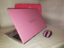 Bubble Gum Pink Sony Vaio T Series Touchscreen 750gb 4gb Windows 10 i5 1.80GHz