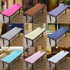 1 Piece Solid Color Massage Table Bed Pad Beauty Salon Spa Treatment Mattress