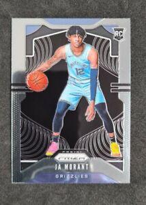 🔥JA MORANT🔥ROOKIE CARD🏀 PRIZM* 2019-20  BASE  #249🔥 NBA RC PANINI. Memphis.