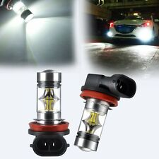 2X H11/H8 9006 LED Bombilla Samsung Car / Error Free Fog Light 6500K
