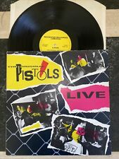 "The Original Pistols ""the Sex Pistols� Live Rrlp 101 Vg Tested"