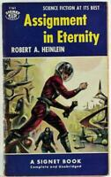 Assignment In Eternity by Robert A. Heinlein 1959 Signet Paperback S1162