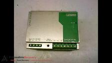 PHOENIX CONTACT QUINT-PS-3X400-500AC/24DC/20 POWER SUPPLY UNIT #163046