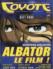 Revue COYOTE MAG numéro 3 MAGAZINE MANGA Yoko Player Okaz Octobre 2002 Epuisé